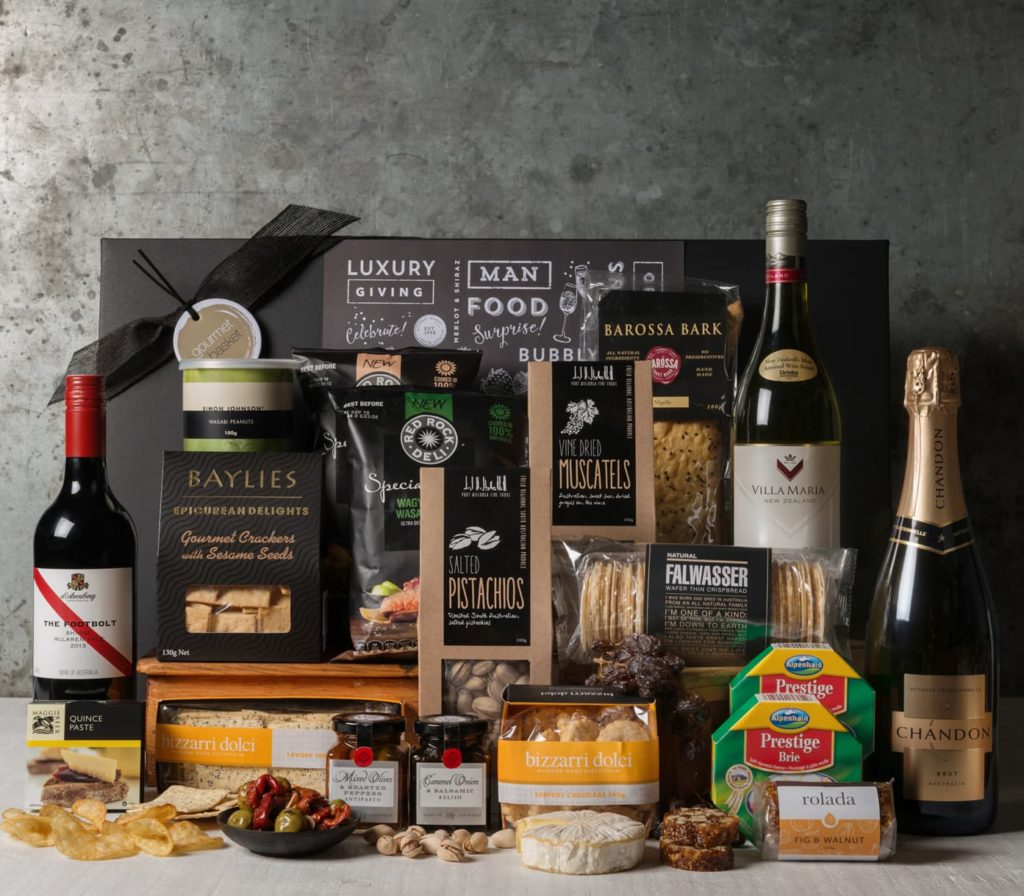 Cheese and Wine Office Share Hamper